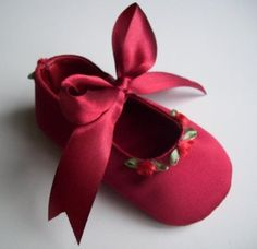 Baby's Red Christmas Shoes