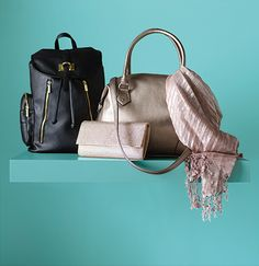 No such thing as too many handbags.