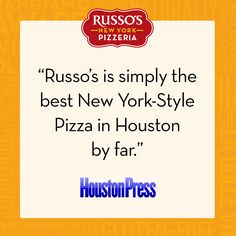 #RussosReview from the Houston Press!