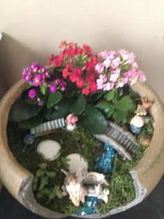 This is my fairy garden