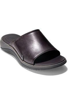 Cole Haan 2.ZeroGrand Slide Sandal (Men) | Nordstrom Slide Sandals, Cole Haan, Warm Weather, Wardrobe Staples, Flip Flops, Nordstrom, Flats, Classic, How To Wear