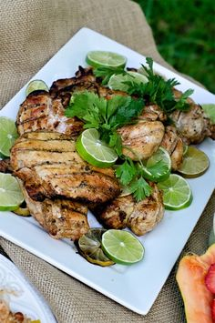 Spice things up for dinner with this easy Chipotle Lime Chicken recipe! LivingLocurto.com