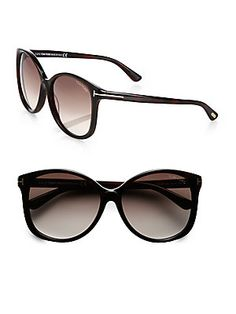 00fe4f4042c Tom Ford Eyewear - Alicia Oversized Round Acetate Sunglasses