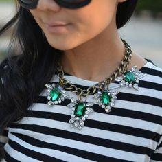 DIY Necklace  : DIY Statement Gem Necklace Kit