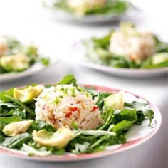Crab & Avocado Salad With Japanese Dressing Recipe  with 11 ingredients
