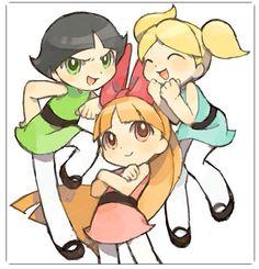 Buttercup, blossom, and bubbles!