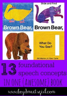 A Step-by-Step Guide: 13 Speech Concepts to Teach Your Child Using