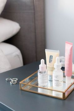 Skincare Musts :: Glossier - The Ordinary - Claudalie - Clinique