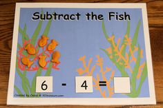 Montessori-inspired fish-themed math ideas