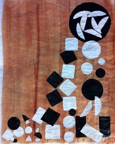 Pertence a série Universo Paralelo Abstrato - Formas em Movimento.  Nome: Circulos, quadrados, retângulos...  50x40