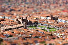Cusco, Peru Tilt Shift Photos, Tilt Shift Lens, Tiny Cooking, Tilt Shift Photography, Miniature Photography, Sensory Experience, Shallow Depth Of Field, Nikon D800, Cusco Peru