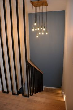 Flur Design, Hallway Designs, House Extensions, Bookshelves, Beautiful Homes, Sweet Home, New Homes, Stairs, House Design