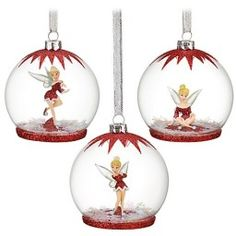find best value and selection for your new disney tinker bell christmas ornament set 3 pc search on ebay worlds leading marketplace