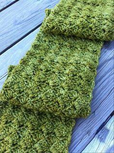 Beautiful scarf (crochet and free pattern)   BeautifulYeah.com