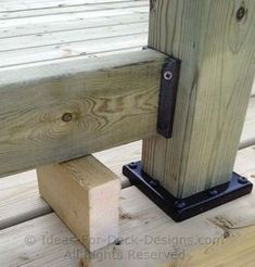 My Shed Plans - Building Wooden Railings - Installing Wood Deck Railing Posts and Rails To Last - Now You Can Build ANY Shed In A Weekend Even If You've Zero Woodworking Experience! Wood Deck Railing, Deck Stairs, Deck Railing Ideas Diy, Deck Guardrail Ideas, Horizontal Deck Railing, Front Porch Railings, Porch Ideas, Deck Building Plans, Building A Shed