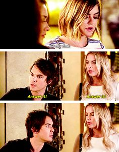 Season 6 Episode 14: Hanna, Aria, Caleb