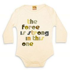 starwars baby- my child will definitely wear this :)