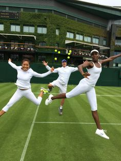 @#Wimbledon #VenusWilliams #2014 #tennis #team