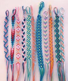 45 Wonderful DIY Bracelet Ideas You Will Totally Love – Armband – - Diy Jewelry İdeas Yarn Bracelets, Summer Bracelets, Bracelet Crafts, String Bracelets, Gold Bracelets, Braclets Diy, Diamond Earrings, Ankle Bracelets, Handmade Bracelets
