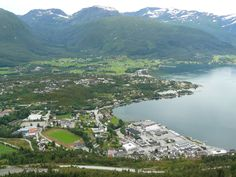 My birthplace: Sandane, Norway.
