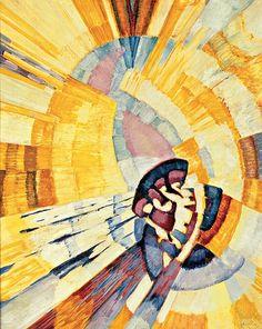 František Kupka | Form von Gelb (Notre Dame), 1911 Öl auf Leinwand
