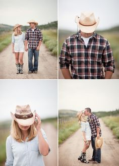 Country Cowboy Engagement Shoot on COUTUREcolorado WEDDING