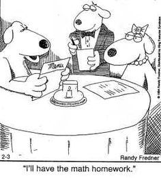 http://mbaker.columbiastate.edu/Cartoons/cartoons1.htm  #MathJokes