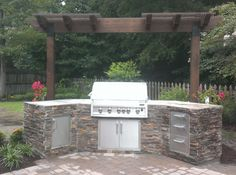 Ready To Finish Outdoor Kitchen Do It Yourself Modules On