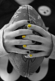 Black and yellow... - steelers