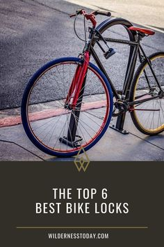 Investing in a good lock is as important as owning your favorite bike. You don't want to lose either! Have a look at our top 6 choices.