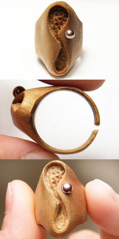 Infinity Ring  Eco Friendly  Hand Carved Wooden by KapKaDesign, $89.00