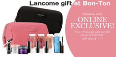 Lancome GWP at Bon-Ton with qualifier of $35