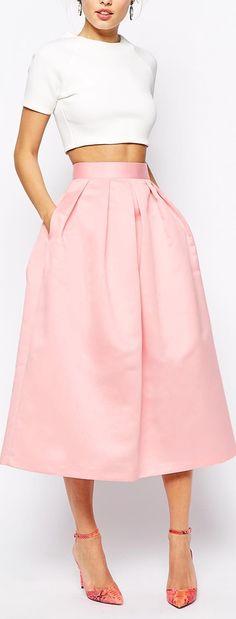 bonded satin skirt THAT SKIRT!!!
