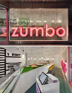 Adriano Zumbo patisserie designed by Sydney interior design team Luchetti Krelle