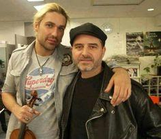 David Garrett beautiful ♥ and Marcus Wolf adorable ♥ Two beautiful German American men