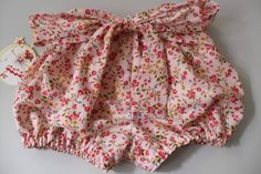 Bow on Bloomers... too cute!