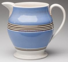 English Mochaware pitcher