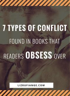 Click through and learn to write a book readers can't put down. Here's the different types of conflict found in books readers obsess over. via /lizrufiange/