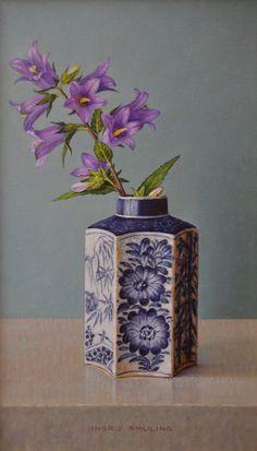 Happy Paintings, Small Paintings, Pen And Watercolor, Watercolor Paintings, Floral Paintings, Dutch Artists, Still Life Art, Kintsugi, Flower Art