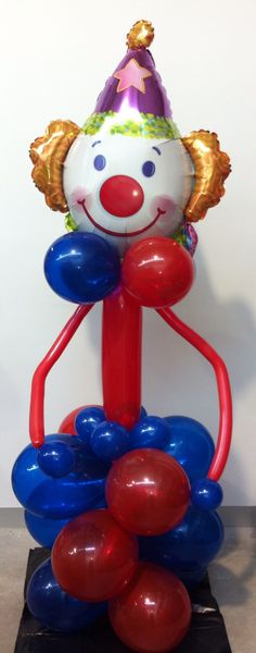 Clown balloon decoration by Let's Celebrate Parties