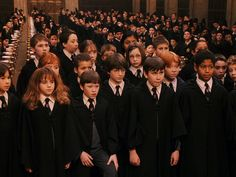Harry Potter - First years