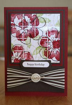 Flower Fancy Tiles by Jayne Mercer - Cards and Paper Crafts at Splitcoaststampers