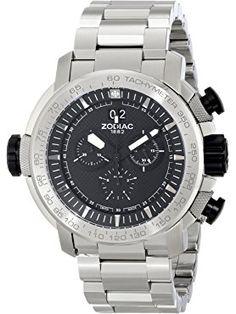 Zodiac ZMX Men's ZO8561 Special Ops Stainless Steel Watch ❤ Zodiac Swiss Made Watches, Special Ops, Stainless Steel Watch, Zodiac, Horoscope