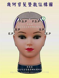 Blogger-黃思恒數位化美髮資訊平台: 幾何剪髮數位構圖-pin it by #carden