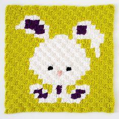 Crochet For Children: Zoodiacs Bunny Rabbit C2C Crochet Graph