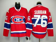 Montreal Canadiens 76 P.K. SUBBAN Home Jersey