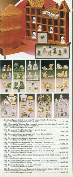1982p3 A 17, Mushroom, Retro Vintage, Merry, Holiday Decor, Kitchen, Home Decor, Cooking, Decoration Home
