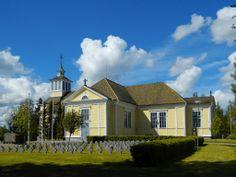 Jalasjärven kirkko. - The Lutheran Church Jalasjärvi, Finland.