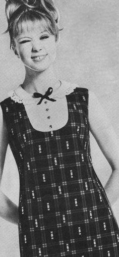 Patti Boyd wearing Samuel Sherman's Dolly Rocker Range 1960's