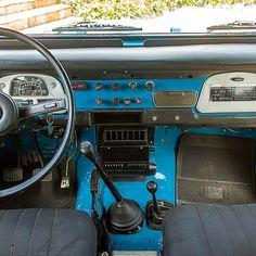 Interior before restoration 1978 Toyota Land Cruiser FJ40 Sky Blue #fjco1978skyblue #toyota #landcruiser #fj40 #fjrestoration